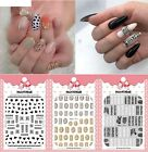 Women Nails Art Manicure Back Glue Decal Decorations Multi Color Sticker Decal