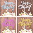 10Pcs Happy Birthday Cake Topper Dessert Cake Decorations Kids Party a usyn