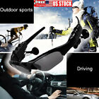 Outdoor Sunglasses Bluetooth Earphone Sport Glasses Wireless Headset+Mic US Ship