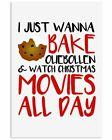 I JUST WANNA BAKE OLIEBOLLEN Vertical Poster Wall Decor Poster (no frame), gebruikt tweedehands  verschepen naar Netherlands