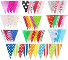Bunting Multi Colour 20 Flags 10m Banner Party Event Home Garden Decoration