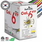 Cat6 1000ft Ethernet Cable -Made with 100% Bare Copper Wire - New and Sealed!