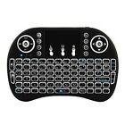 2.4GHz Backlit Wireless Keyboard Touchpad Rechargeable for Smart TV Box Android