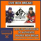 2019-20 UPPER DECK SP AUTHENTIC HOCKEY DOUBLE HOBBY BOX BREAK #12 $9.99 CAD on eBay
