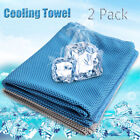 2PCS Ice Cold Instant Cooling Towel Running Jogging Gym Chilly Pad Sports Yoga image
