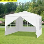 LANGRIA Gazebo Outdoor Marquee Canopy Garden Party Wedding Tent 3x3m 3x4m 3x6m