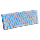 AJAZZ AK33 Mechanical Keyboard 82 Keys Blue Black Switches Pluggable Cable