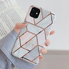 Glitter Marble Case For iphone 11 Pro Max 7 8Plus XS XR Leopard Print Thin Cover
