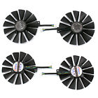 Fan For ASUS STRIX DUAL RX 580 O4G RX580 O8G Gaming 4PIN 13 blades Cooling Fan
