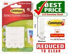 3M Command Strips Self Adhesive Picture Frame Hanging Strips Poster Strips <br/> ✔Best Value UK Stock ✔ 100% Genuine
