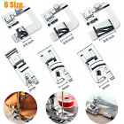 3/6 PCS Sewing Machine Presser Foot Tool Kit Set For Brother Singer Domestic New