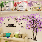 3d Large Tree Arcylic Wall Sticker Room Decal Mural Art Diy Home Wall Decor