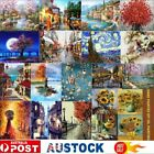 Scenery Diy Paint By Numbers Kit Digital Oil Painting Artwork Wall Home Decor Kc
