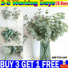 Artificial Fake Leaf Eucalyptus Green Plant Silk Flowers Nordic Home Decor-yy Uk