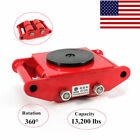 Heavy Duty Machine Dolly Skate Machinery Roller Mover Cargo Trolley/4 Slider Pad