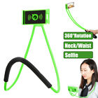 Universal Lazy Hanging Neck Phone Stand Mount Waist Bracket Holder For iPhone
