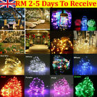 Led String Fairy Lights Battery Home Twinkle Decor For Party Christmas Garden