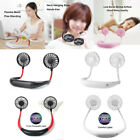 Rechargeable Neck Hanging Sports Fan Silent Handsfree Travel Cooling Fan