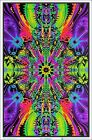 Wormhole Blacklight Poster Wall Decoration FREE SHIPPING