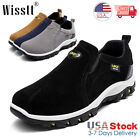 Mens Slip On Sports Outdoor Sneakers Running Walking Hiking Climbing Shoes Size