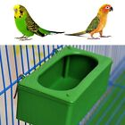 Bird Parrot Food Water Bowl Cups Pigeons Pet Cage Sand Cup Feeder Feeding Boxes