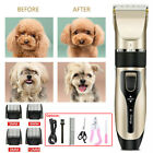 Pet Professional Dog Grooming Clipper Kit Hair Trimmer Electric Shaver  UK STOCK