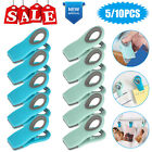Magnetic Chip Bag Clips Kitchen Refrigerator Magnets Food Snack Clamps Sealing