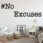 Beauty No Eccussees Wall Sticker Home Decoration Nursery Room Decor Decal