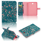"""Magnetic Leather Wallet Case Cover For Samsung Galaxy Tab S2 8"""" T710 / 9.7"""" T810"""