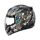 Icon Airmada Legion Full Face Helmet - Silver