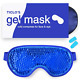Ticlo's Gel Eye Mask - Cooling Ice Cold Compress Pad - Relax & Massage Your Tire