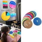 Set of Circular Fractions Tiles Counting Early Learning Number Teaching