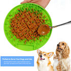 Dog Puppy Pet Lick Pad Bath Buddy Distractor wall Lick Mat Slow Feeder 3 Colours