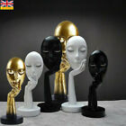 Modern Women Face Ornament Sculpture Thinker Figure Mask Art Statue Home Decor