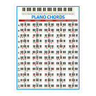 Portable Piano Poster Piano Chords Scales and Music Theory Chart Wall Art Poster