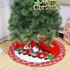 "Christmas Tree Skirt 30"" 36"" 48"",Plush Xmas Party Holiday Decorations for Christ"