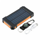 Waterproof 2000000mAh Solar Power Bank Portable Battery Charger for Cell Phone