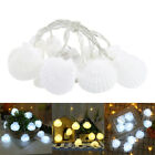 Shell Shaped Led Fairy Lights Charming Decorative Lamp Home Bedroom Decoration