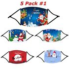 Reusable Washable CHRISTMAS Print Face Protection MAGA Santa Clause Face Mask