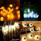 Halloween Decorations String Skeleton Lights Pumpkin Party Home Spiders Fairy
