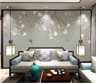 3D Flowers And Birds ZHUA6219 Wallpaper Wall Murals Removable Self-adhesive Amy