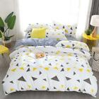 3D Black Triangle ZHUA3140 Bed Pillowcases Quilt Duvet Cover Set Queen King Zoe