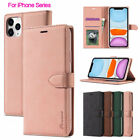 For Iphone 11 Pro Max Xs 8/7/6s Plus Leather Wallet Case Card Slots Flip Cover