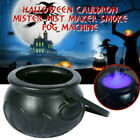 3Pcs Cauldron Halloween Mister Mist Smoke Fog Machine Color Changing Props Witch