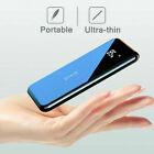900000mAh Qi Wireless Outdoor Travel Best Power Bank Charger Backup Battery 2USB