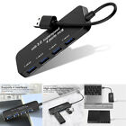 USB HUB 3.0 High Speed 4 Port Multi Splitter Expansion Desktop PC Laptop Adapter