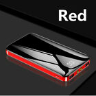 Ultra-thin Portable External Charger Battery Huge Capacity 900000mAh Power Bank