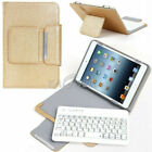 "Folio Leather Case Cover Wireless Keyboard For 9.7"" 10"" 10.1"" RCA Irulu Tablet"