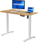 Flexispot Electric Stand Up Desk Workstation with🔥Desktop 48 x 30Inches Whole🔥