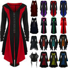 Women Renaissance Medieval Halloween Costume Witch Gothic Punk Fancy Party Dress